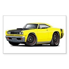 1969 Super Bee A12 Yellow Decal
