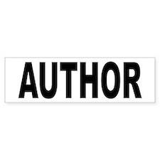 Author Car Sticker