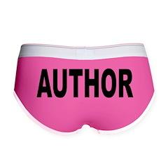 Author Women's Boy Brief