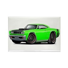 1969 Super Bee A12 Lime Rectangle Magnet