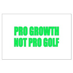 Pro Growth Anti-Obama Golfing Posters