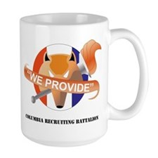 DUI-COLUMBIA RECRUITING BN WITH TEXT Mug