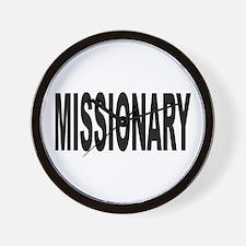 Missionary Wall Clock