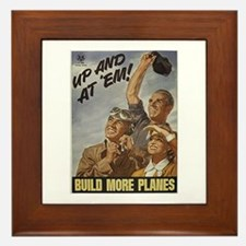 Build More Planes Framed Tile