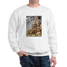 Build More Planes Sweatshirt