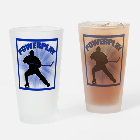 Powerplay Drinking Glass