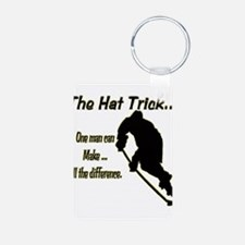 The Hat Trick Keychains