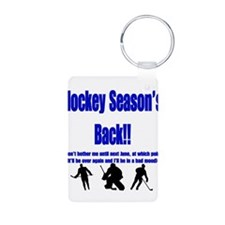 Hockey Season's Back!! Keychains