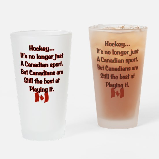 Canadian Sport Drinking Glass
