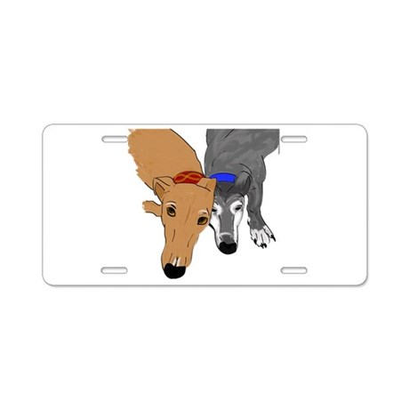 Drawn Together Aluminum License Plate