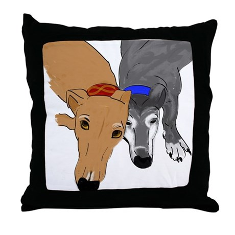 Drawn Together Throw Pillow