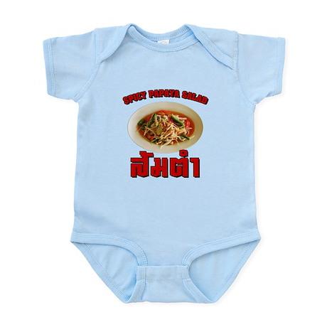 Spicy Papaya Salad (Som Tam) Infant Bodysuit