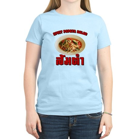 Spicy Papaya Salad (Som Tam) Women's Light T-Shirt
