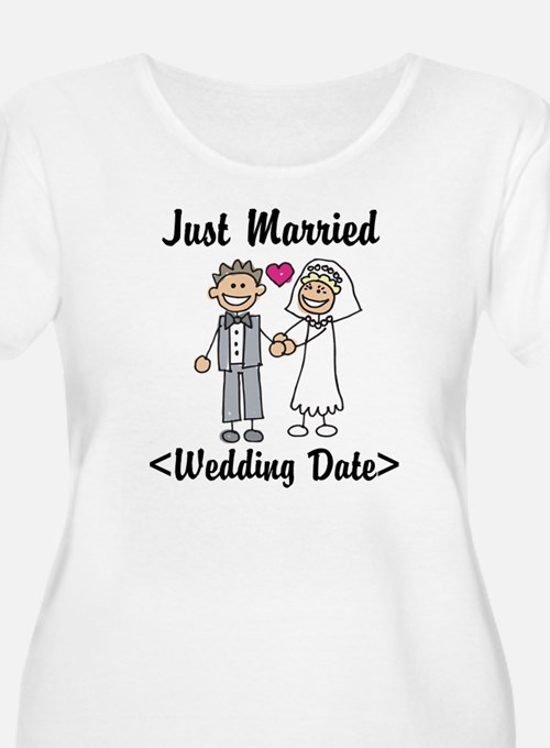 Just Married (Add Your Wedding Date) T-Shirt