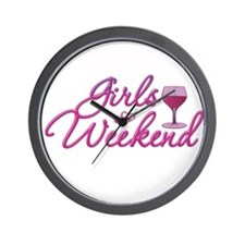Girls Weekend Night Out Bachelorette Party Wall Cl