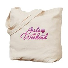 Girls Weekend Night Out Bachelorette Party Tote Ba