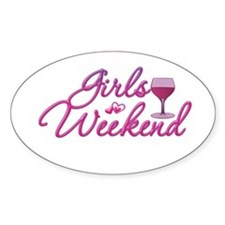 Girls Weekend Night Out Bachelorette Party Bumper Stickers
