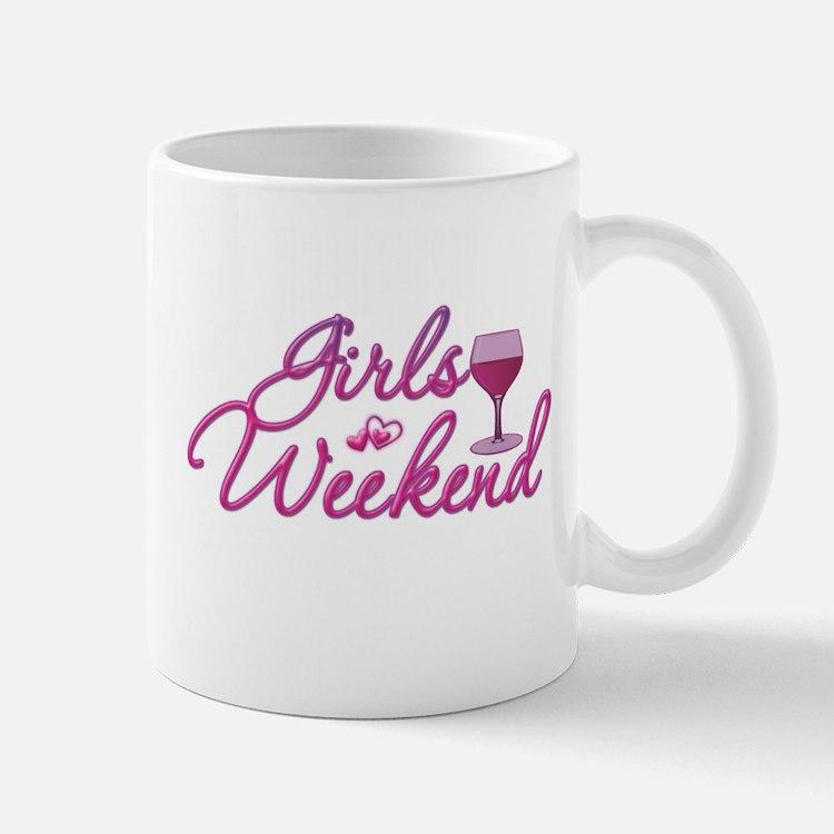 Girls Weekend Night Out Bachelorette Party Mug
