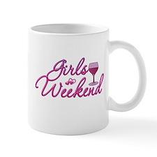 Girls Weekend Night Out Bachelorette Party Small Mugs