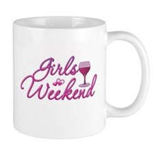 Girls Weekend Night Out Bachelorette Party Small Mugs