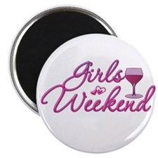 Girls Weekend Night Out Bachelorette Party Magnet