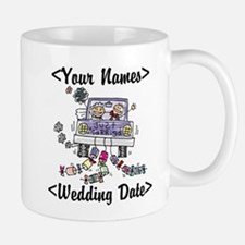 Just Married (Add Names & Wedding Date) Mug