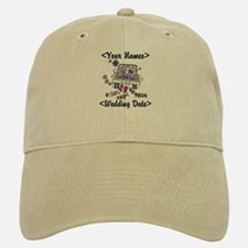 Just Married (Add Names & Wedding Date) Cap