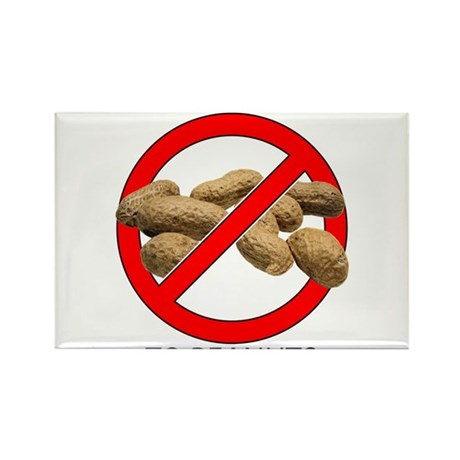 Just Say No to Peanuts Rectangle Magnet (10 pack)