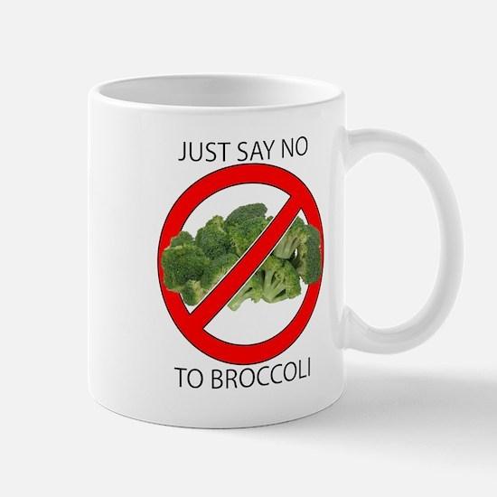 Just Say No to Broccoli Mug