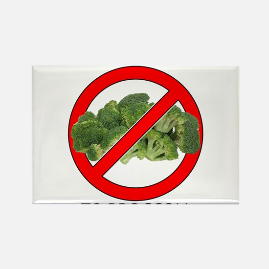 Just Say No to Broccoli Rectangle Magnet (10 pack)