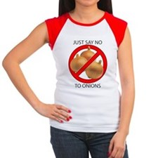 Just Say No to Onions Women's Cap Sleeve T-Shirt