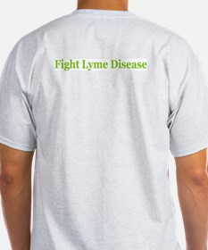 iSupport The Fight Against Lyme Disease Ash Grey T