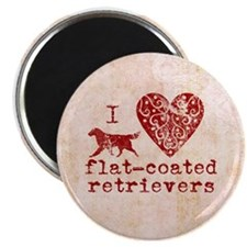 Flat-coated Retriever Magnet