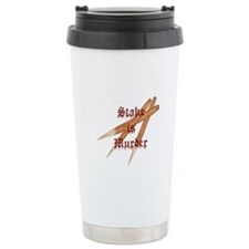 Stake is Murder Travel Mug