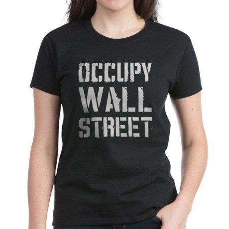 Occupy Wall Street Women's Dark T-Shirt