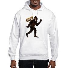 Bigfoot Sasquatch Yetti sup Hoodie