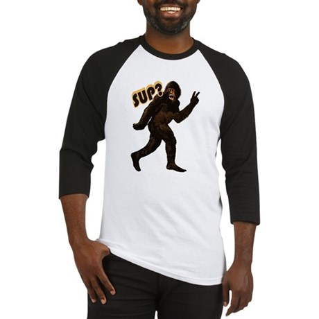Bigfoot Sasquatch Yetti sup Baseball Jersey