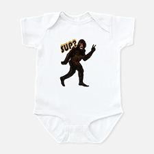 Bigfoot Sasquatch Yetti sup Infant Bodysuit