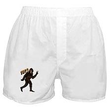 Bigfoot Sasquatch Yetti sup Boxer Shorts