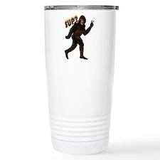 Bigfoot Sasquatch Yetti sup Travel Mug