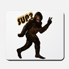Bigfoot Sasquatch Yetti sup Mousepad