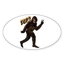 Bigfoot Sasquatch Yetti sup Decal