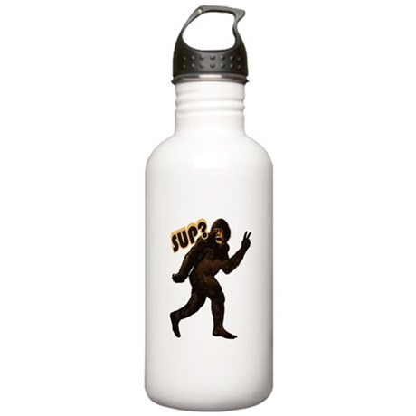 Bigfoot Sasquatch Yetti sup Stainless Water Bottle
