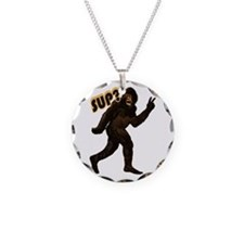 Bigfoot Sasquatch Yetti sup Necklace