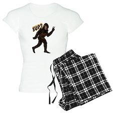 Bigfoot Sasquatch Yetti sup Pajamas