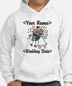 Just Married (Add Names & Wedding Date) Jumper Hoody