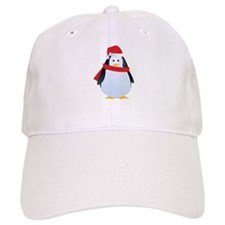 Christmas penguin Baseball Cap