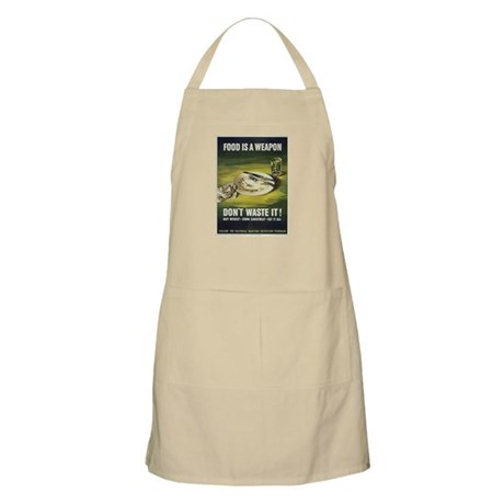 Food is a Weapon BBQ Apron