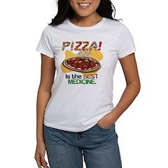 Pizza is the Best Medicine Women's T-Shirt