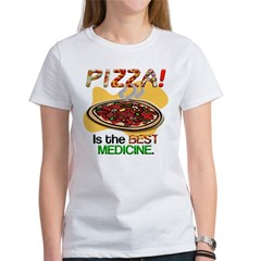Pizza is the Best Medicine Tee